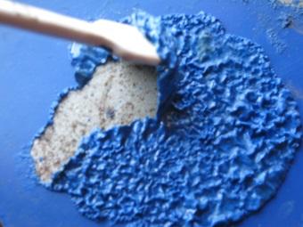 химический способ удаления краски