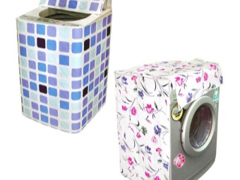 чехлы для стиральных машин разных типов