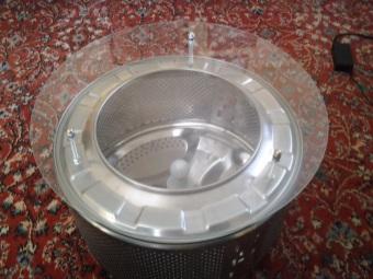 Что можно сделать из старой стиральной машины - столик
