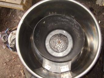 Соковыжималка из бака старой стиральной машины