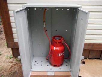 Установка газовой колонки на сжиженном газе через баллон