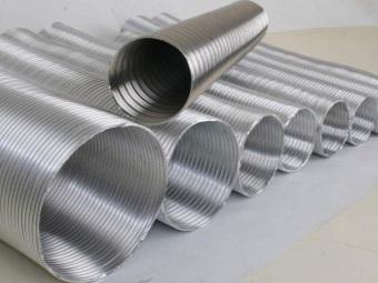 Гофрированные трубы для газовых колонок
