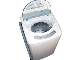 Компактная стиральная машина с вертикальной загрузкой