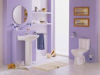"""раковина """"Тюльпан"""" в ванной"""