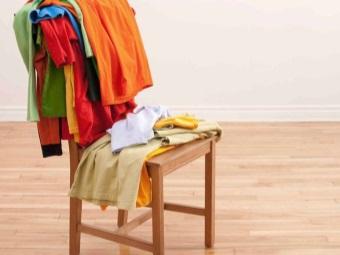 одежда без обозначений на ярлыках