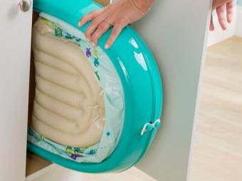 Складная ванночка для новорождённого Baby's Aquarium