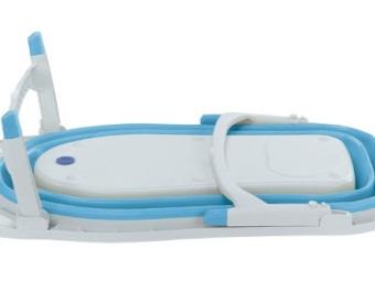 Ванночка для купания новорождённого в сложенном виде