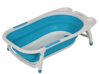 Ванночка для купания новорождённого в разложенном виде
