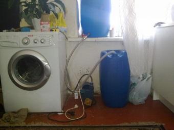 Стиральная машина-автомат для дачи с подключением к водоснабжению