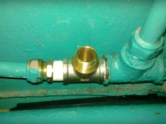 Фитинг-тройник, как альтернатива тройнику для подключения стиральной машины к водопроводу