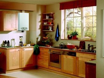 встроенная колонка на кухне