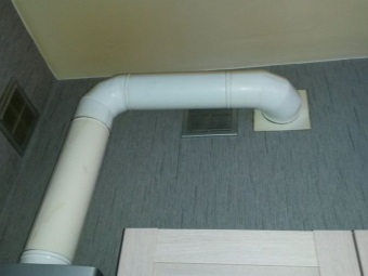 Оцинкованная труба для газовой колонки