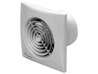 Осевой вентилятор для ванной с датчиком влажности