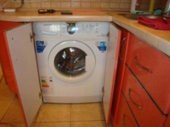 встроенная стиральная машина большой вместимости
