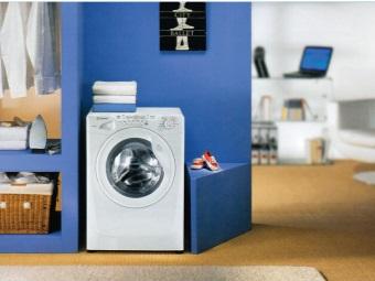 стиральная машина в интерьере квартиры