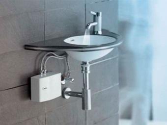 Проточный водонагреватель небольших размеров
