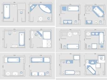 Планировка дизайн маленькой ванной