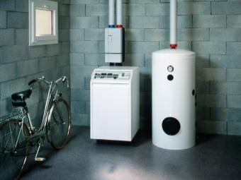 Напольный газовый водонагреватель