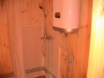 Настенный водонагреватель для дачи