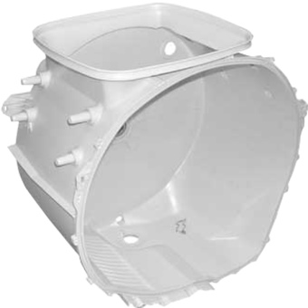 Пластиковый бак для стиральной машины