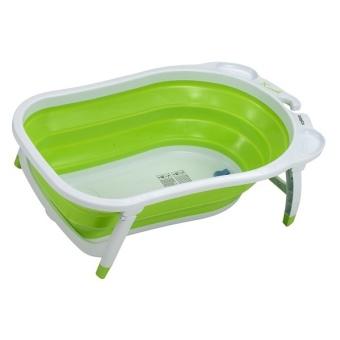 Ванночка Babyton для новорожденных в разложенном виде