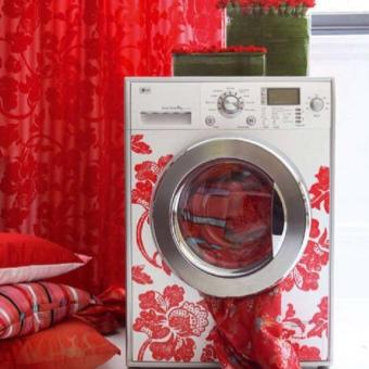 стиральная машина в интерьере