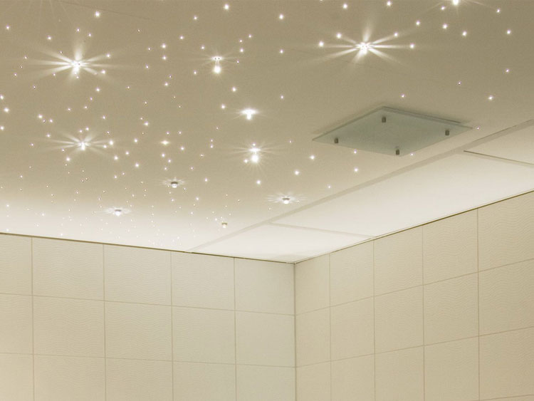 фото ванная комната потолок