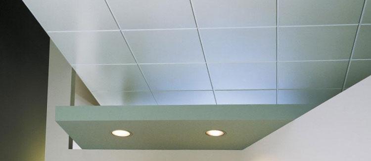 Подвесной пластиковый потолок в ванной комнате 83