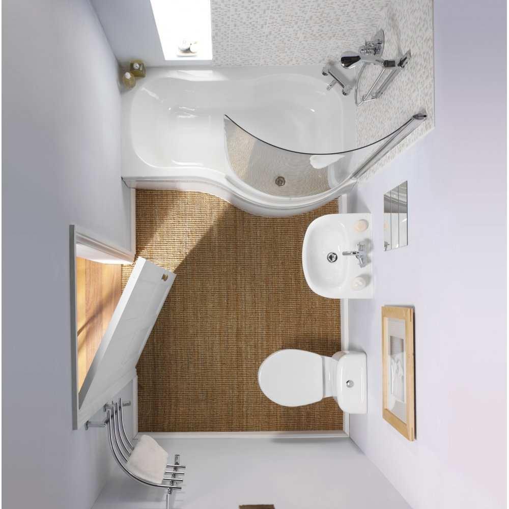 дизайн маленькой ванны 2