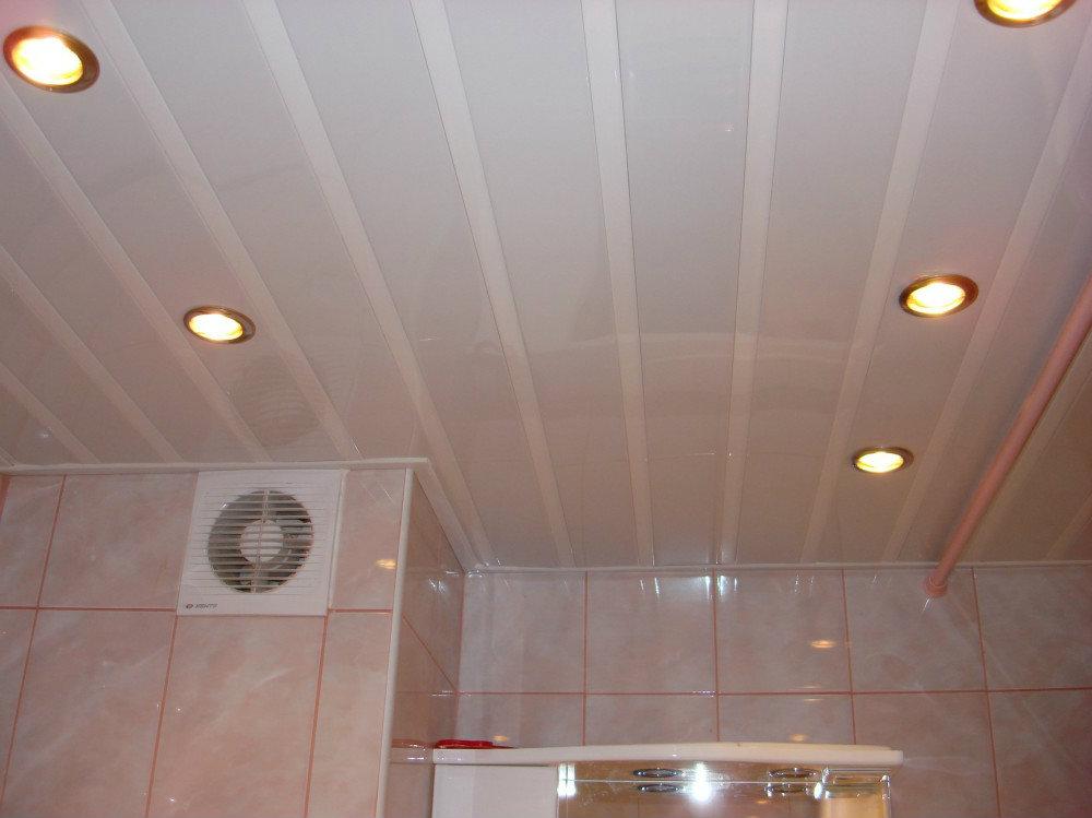 Навесной потолок пвх своими руками