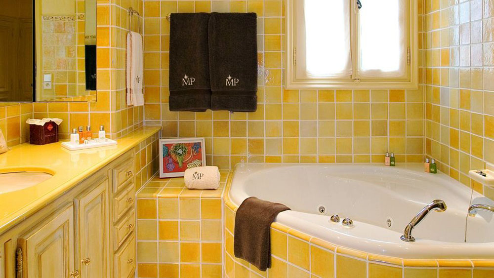 for Yellow and green bathroom ideas
