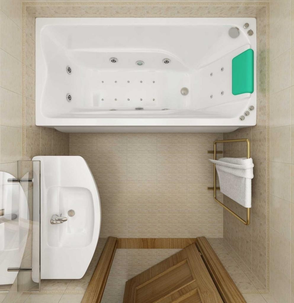 Дизайн ванной в 3 кв м комнаты