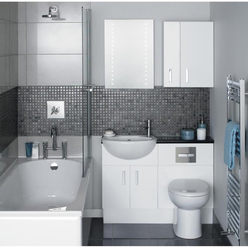 небольшие ванные комнаты дизайн 3