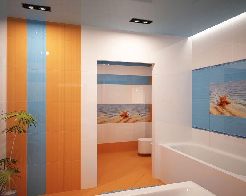 Ванная комната оранжево синяя где купить смесители для мойки