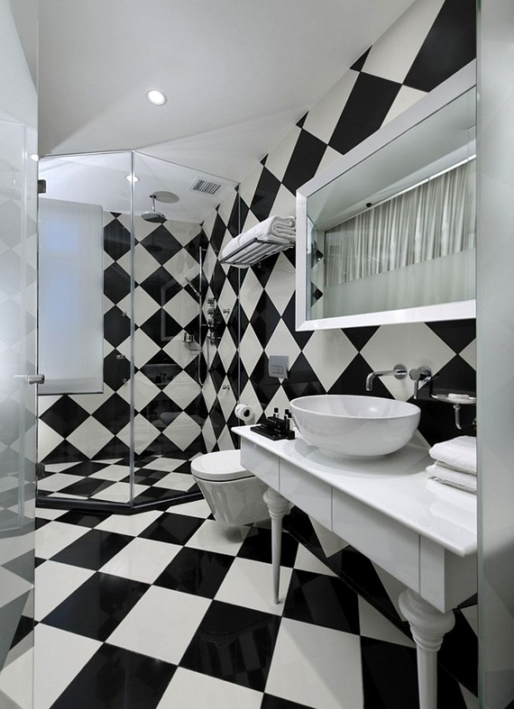 Дизайн потолок темнее стен