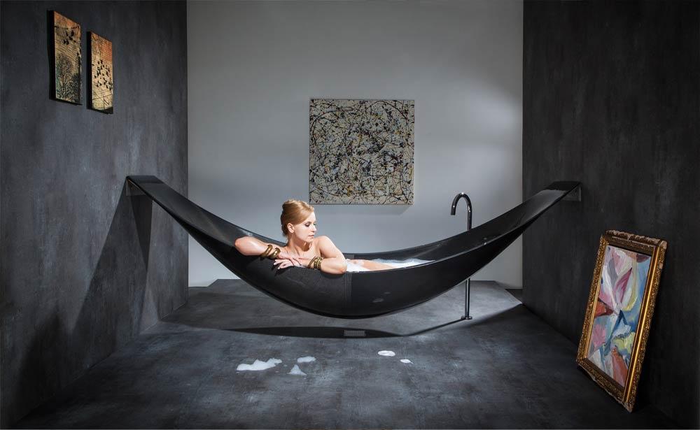 Купить черного цвета ванную