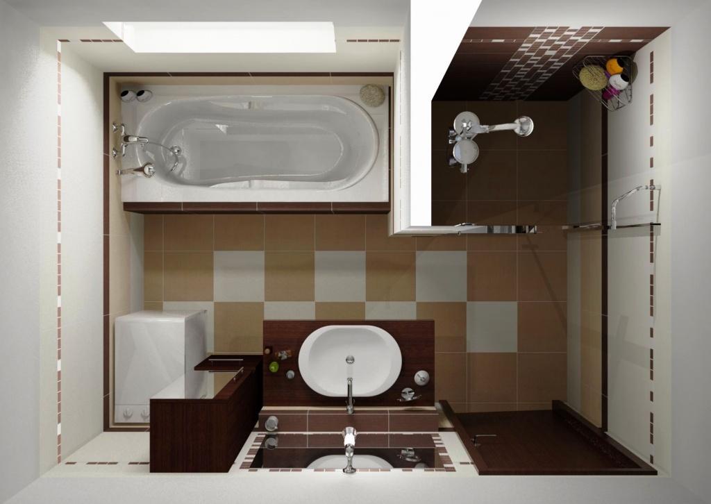 Дизайны ванных комнат 4 кв м с туалетом 5