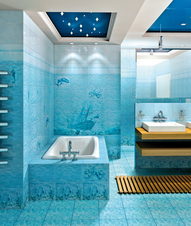 Ванная комната аквариум смеситель на биде купить