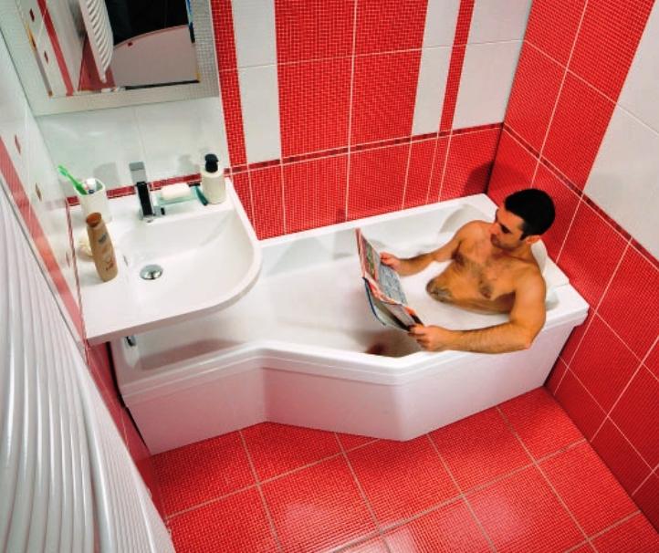 Маленькая ванная дизайн фото