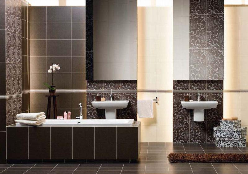 Коричневая ванная комната отзывы мебель для ванной ove