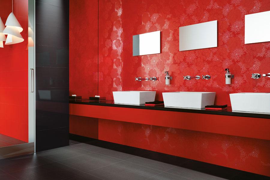 ванная комната фото бордовая