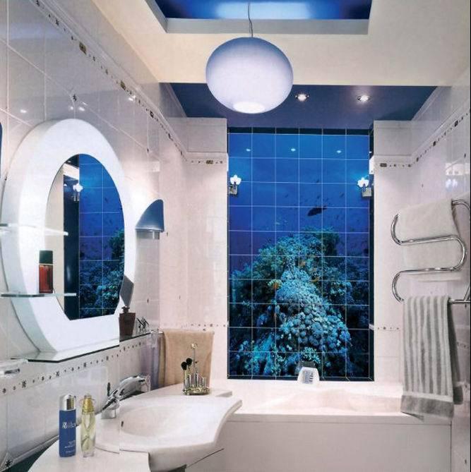 фото комнаты 3 d дизайн ванной для плитка