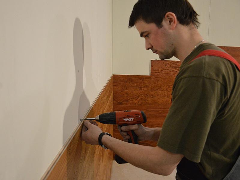 Монтаж стеновой панели на кухне своими руками