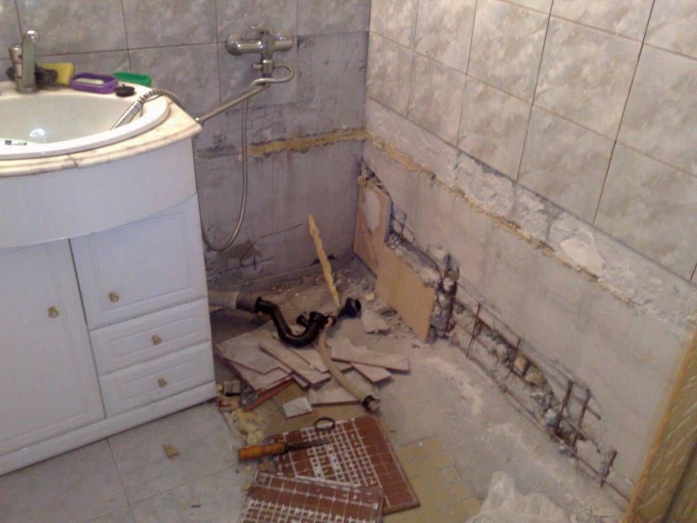 Демонтаж чугунной ванны своими руками