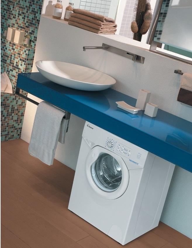 Дизайн раковина над стиральной машинкой