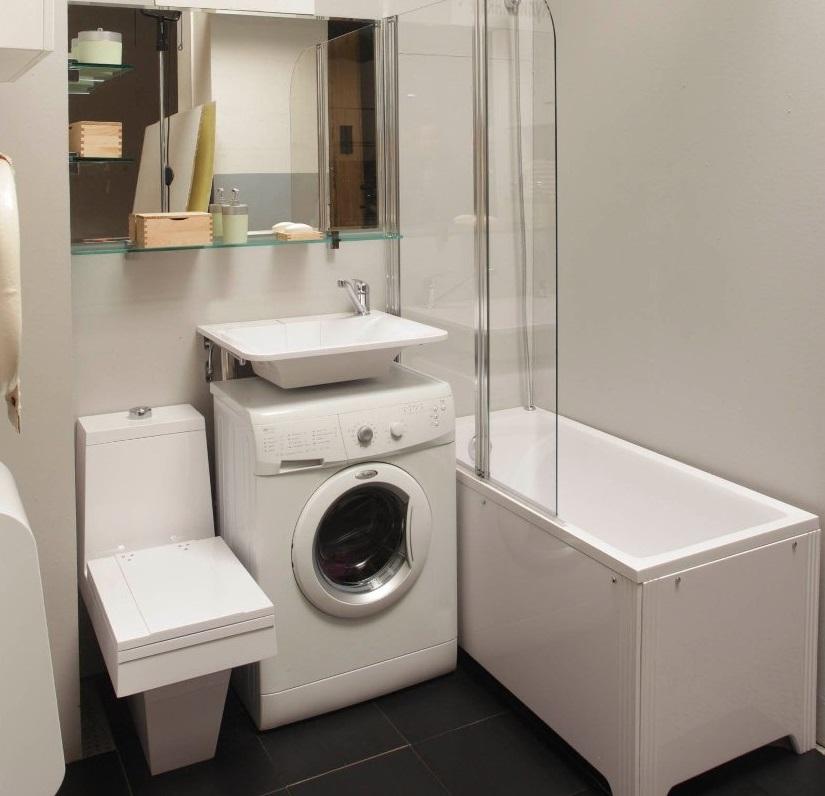 Угловая столешница в ванную под раковину и стиральную машину фото столешница из иск. камня на кухне