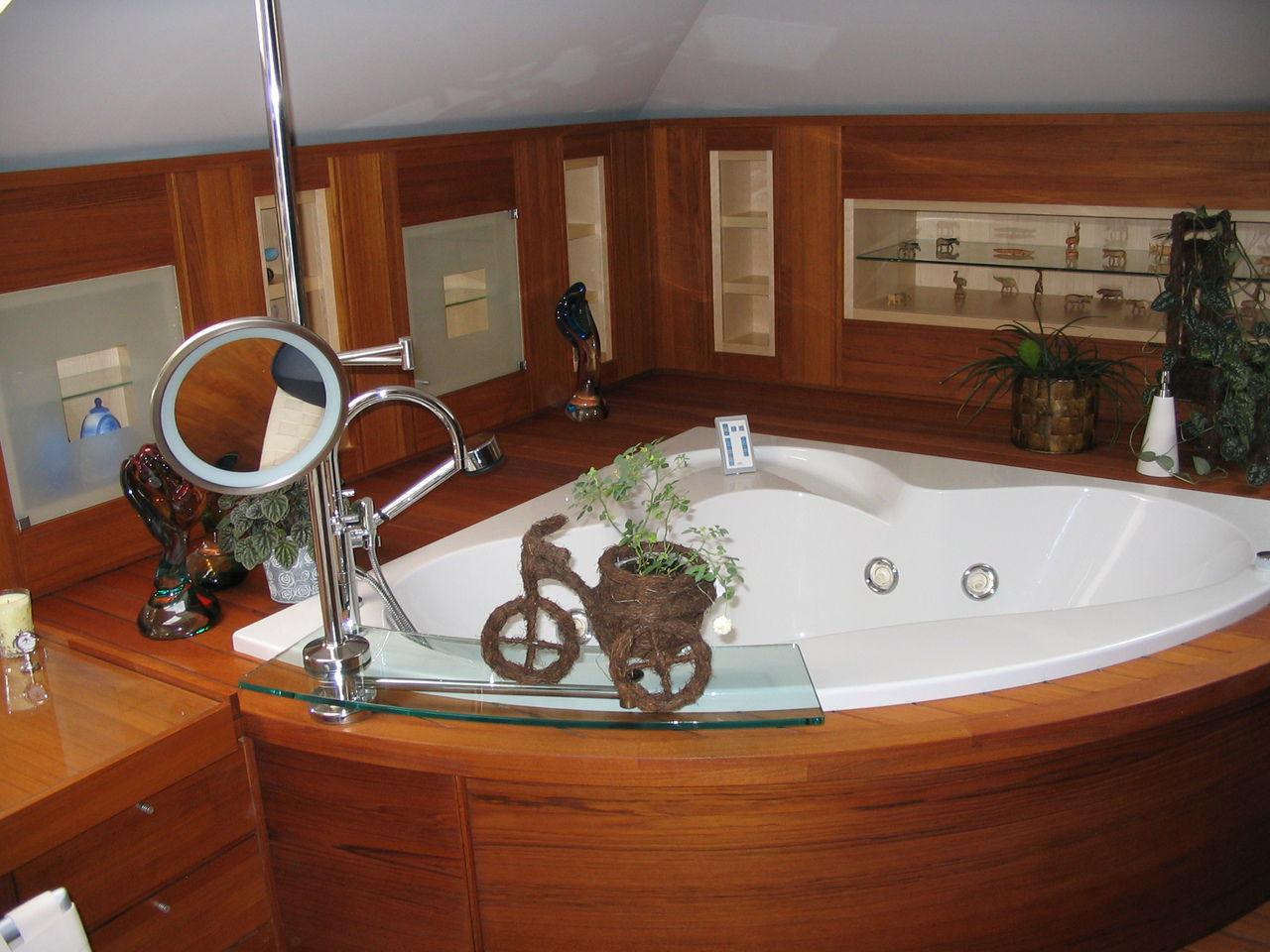 Как оборудовать ванную комнату в частном доме своими руками