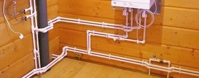 сборке схемы водопровода: