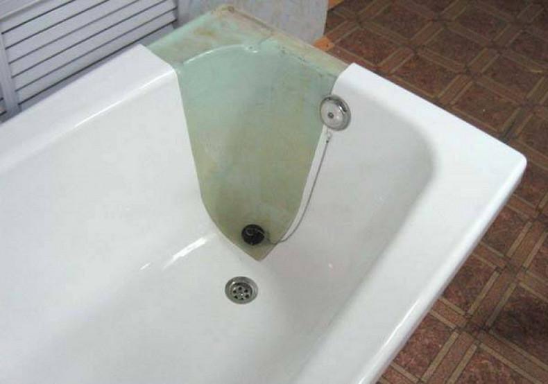 Чем восстановить ванну чугунную своими руками