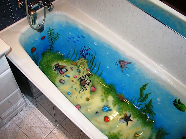 Декор для ванной своими руками